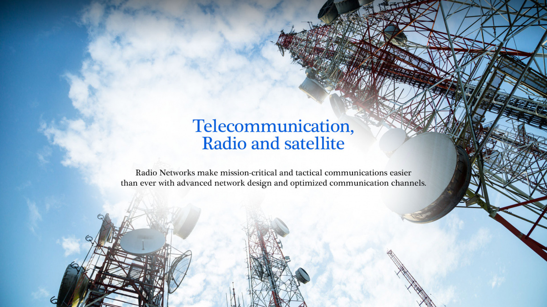 Telecommunication, Radio and satellite